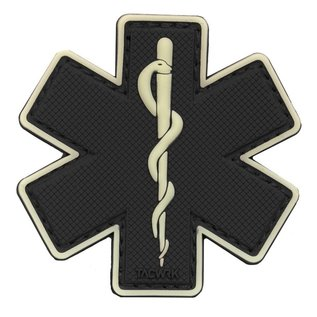 EMT Star of life patch pvc klein