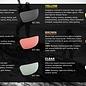 Gatorz eyewear Wraptor gun metal