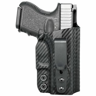 Concealment express Tuckable IWB Holster Glock carbon