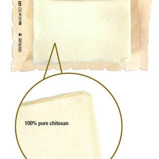SAM Medical ChitoSAM 100 haemostatic zfold gauze