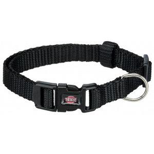 Premium Halsband XS-S schwarz