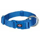 Premium Halsband S-M royalblau