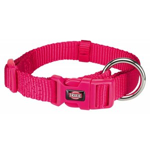Premium Halsband S-M fuchsia