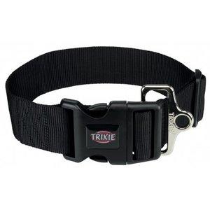 Premium Halsband M-L schwarz