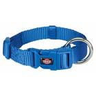 Premium Halsband M-L  royalblau