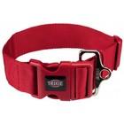 Premium Halsband M-L  rot