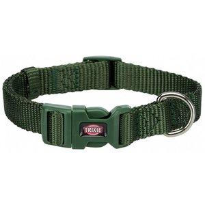 Premium Halsband M-L waldgrün