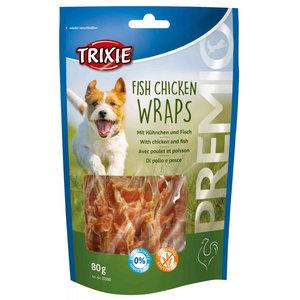 Trixie Frish Chicken Wraps mit Hühnchen und Fisch