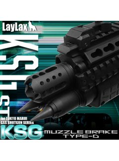 Laylax FirstFactory KSG Flash Hider Typ D