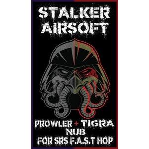 STALKER CNC Aluminium SRS Prowler + Tigra Nub Set