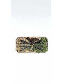 SkirmShop United Kingdom Flag Patch - Multicam