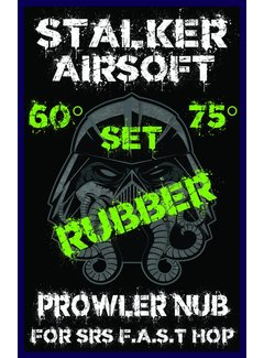 STALKER SRS Prowler Rubber Nub 60°+75° (Set)