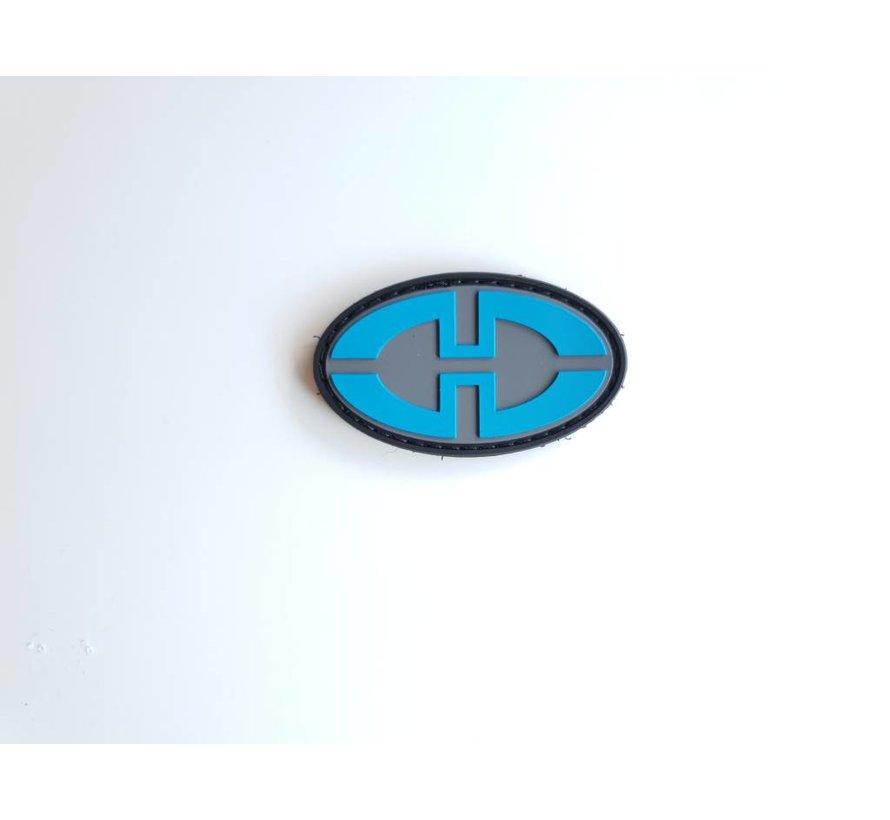 Desert tech Logo Patch  (Blue/Black)