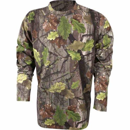 Jack Pyke Evolution T-Shirt Long Sleeve (English Oak)