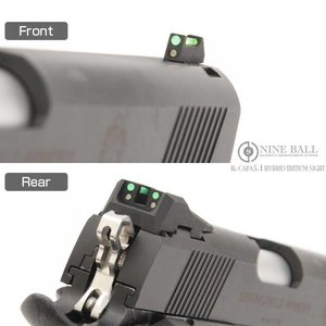 Nine Ball Hi-CAPA 5.1 Hybrid-Tritiumvisier