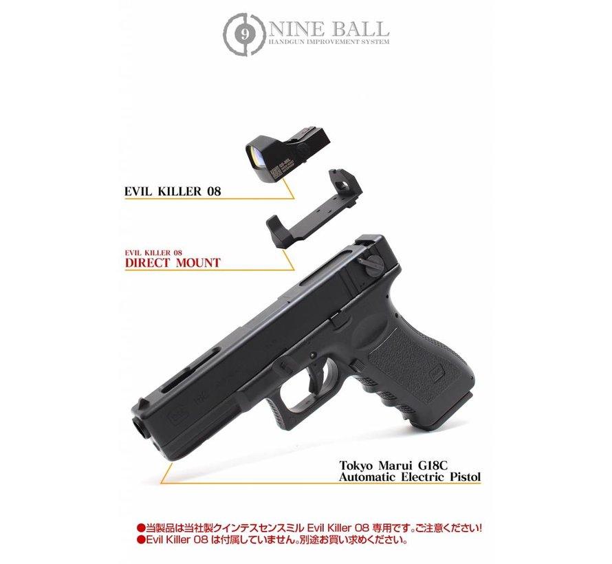 Nine Ball Electric Glock 18C Evil Killer-08 Direct Mount - Skirmshop