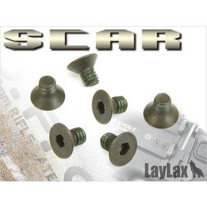 Nine Ball SCAR Stock Fixing Screw Set M4,6mm 6pcs