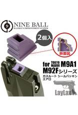 Nine Ball TM-MK23/M9A1/M92F Series Gas Route Packing Aero 2pcs