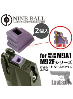 Nine Ball TM-MK23 / M9A1 / M92F Serie Gasrouter Verpackung Aero 2St