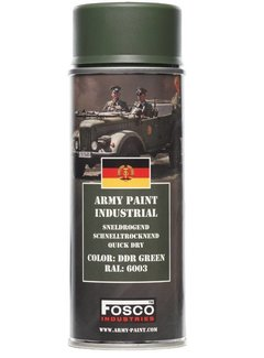 Fosco Army Paint DDR Green RAL 6003