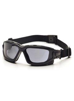Pyramex I-Force GREY Brille Dual Anti-Beschlag Linse (Klasse 3)