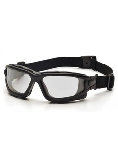 Pyramex I-Force CLEAR Goggle Dual Anti-Fog Lens (Class 3)