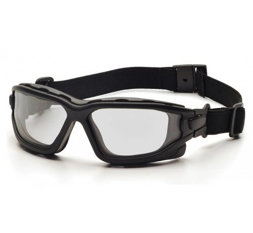 Pyramex I-Force CLEAR Goggle Dual Anti-Fog Lens (Class 3)