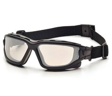 Pyramex I-Force INDOOR/OUTDOOR MIRROR Goggle Dual Anti-Fog Lens (Class 3)