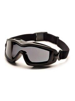Pyramex V2G-Plus GREY Brilles Dual Anti-Beschlag Linsen (Klasse 2)