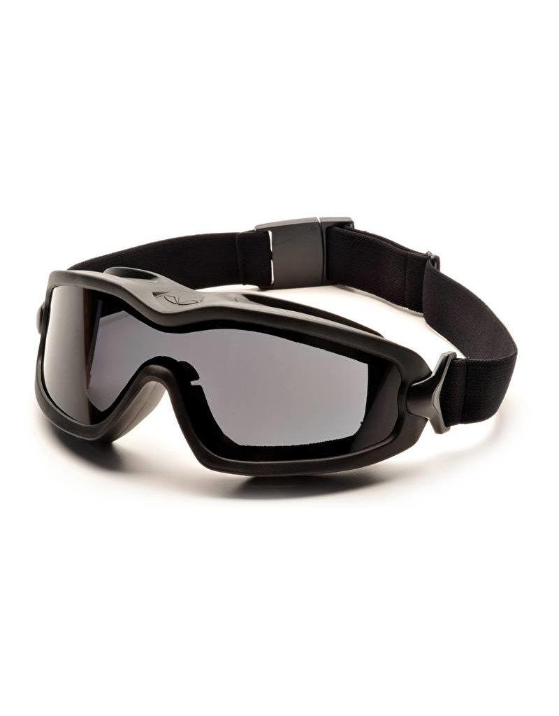 Pyramex V2G-Plus GREY Goggle Dual Anti-Fog Lens (Class 2)