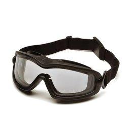 Pyramex V2G-Plus -CLEAR Goggle Dual Anti-Fog Lens (Class 2)
