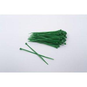 SkirmShop OD/GRÜN Nylon Plastik Kabelbinder 200 Stück