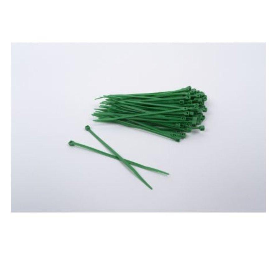 OD/GRÜN Nylon Plastik Kabelbinder 200 Stück
