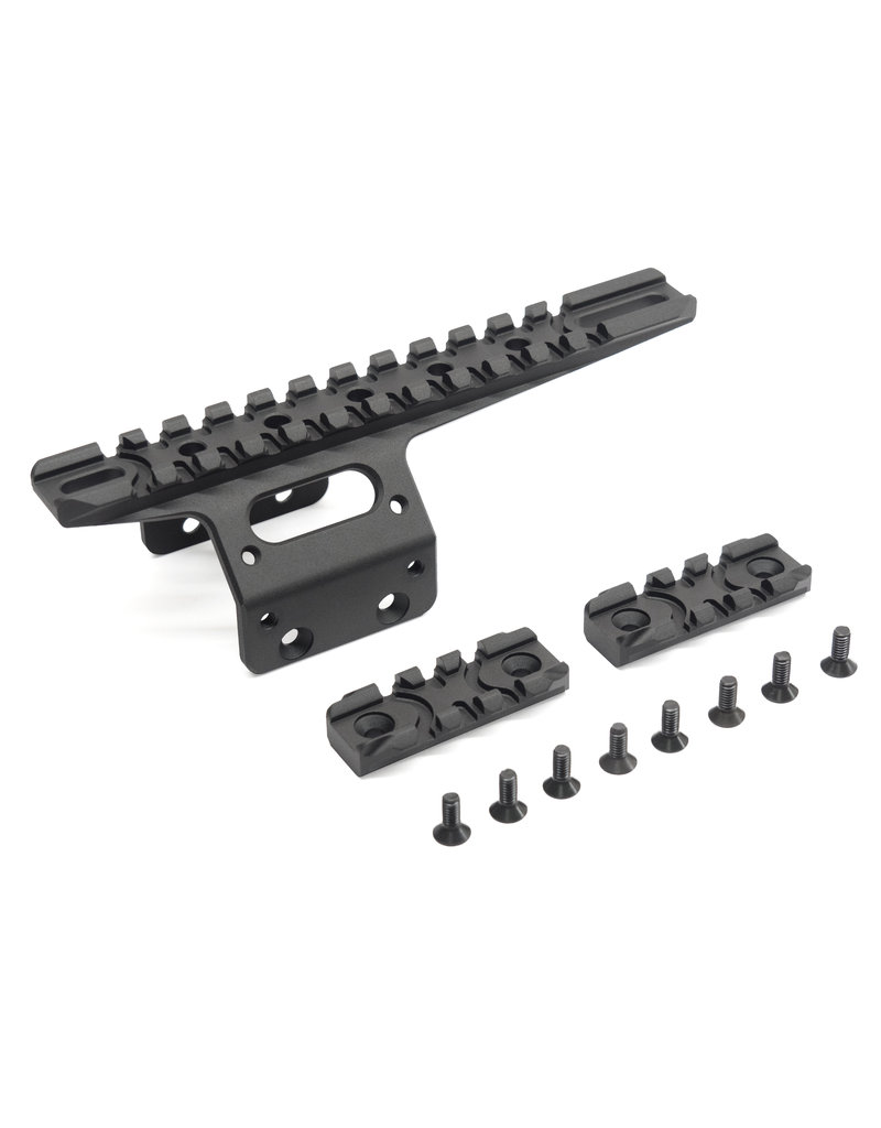 Action Army T10 Front Rail Black