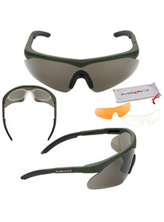 SwissEye Raptor Glasses (Green)