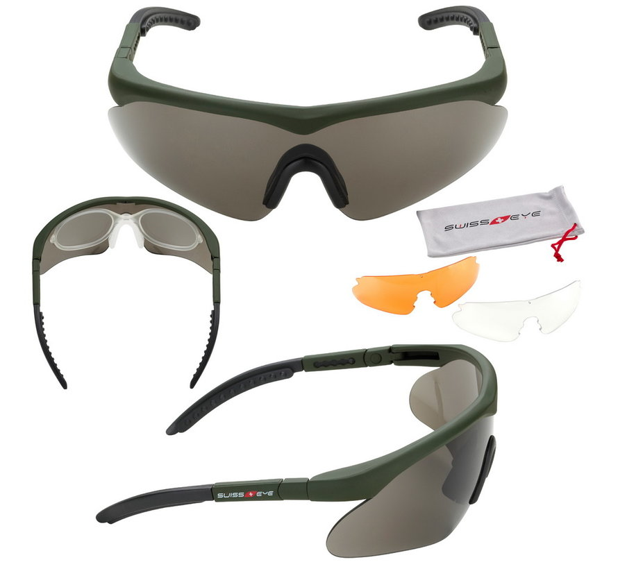 Raptor Glasses (Green)