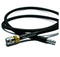 "PolarStar Braided 42"" Air Line (Black) with coupling"