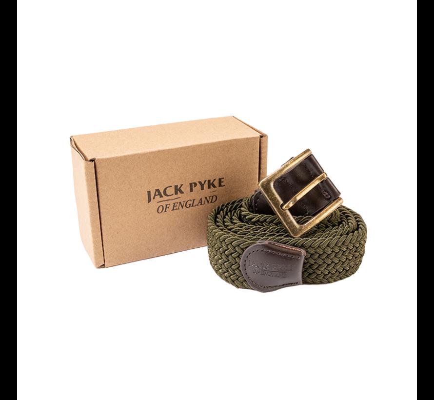 Jack Pyke elastische riem groene countryman