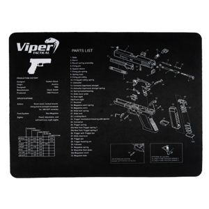 Viper Gun Maintenance Mat - Glock