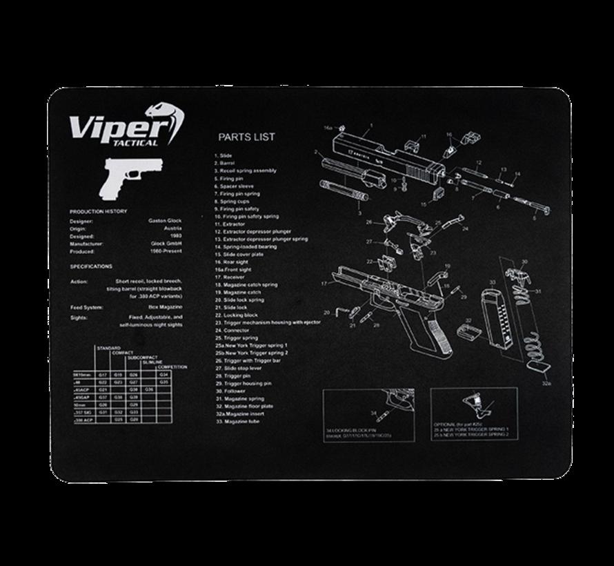 Gun Maintenance Mat - Glock