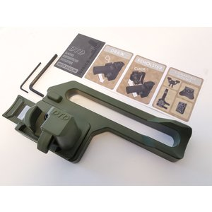 DTD MK23 Retention Holster - Woodland Green