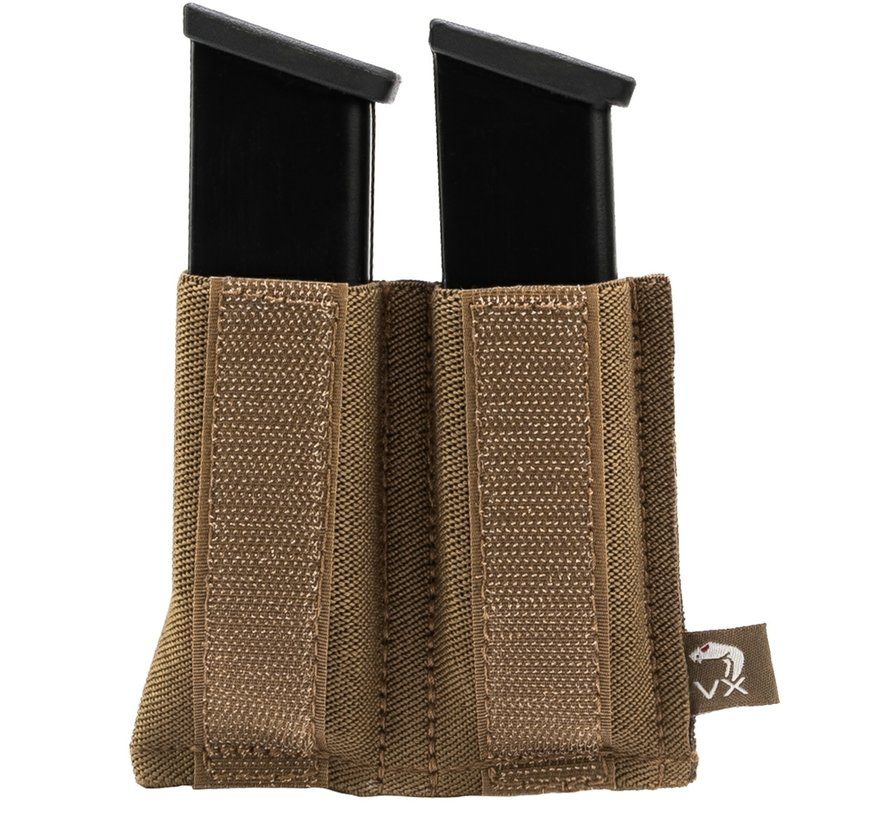 VX Double Pistol Mag Sleeve DARK COYOTE