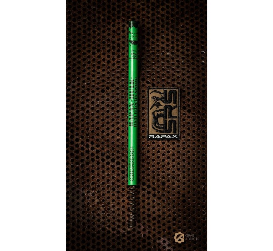 Rapax HULK High Velocity Spring / Hulk Green - SRS / SSG / VSR (APS2 Style Spring)