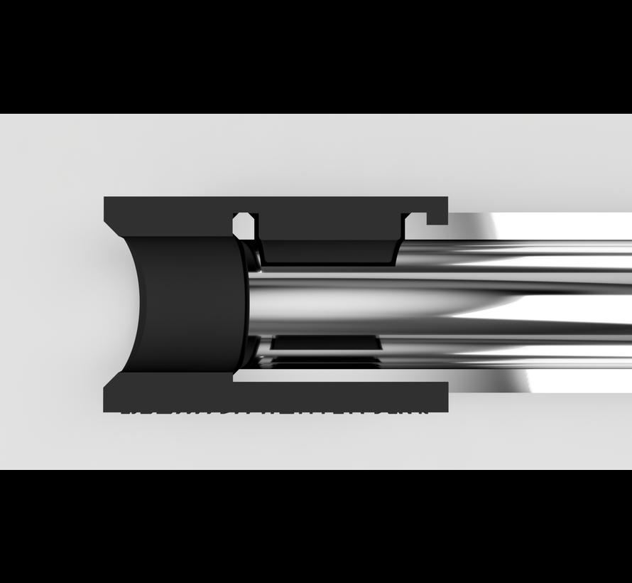 concave VSR bucking 40º (black)