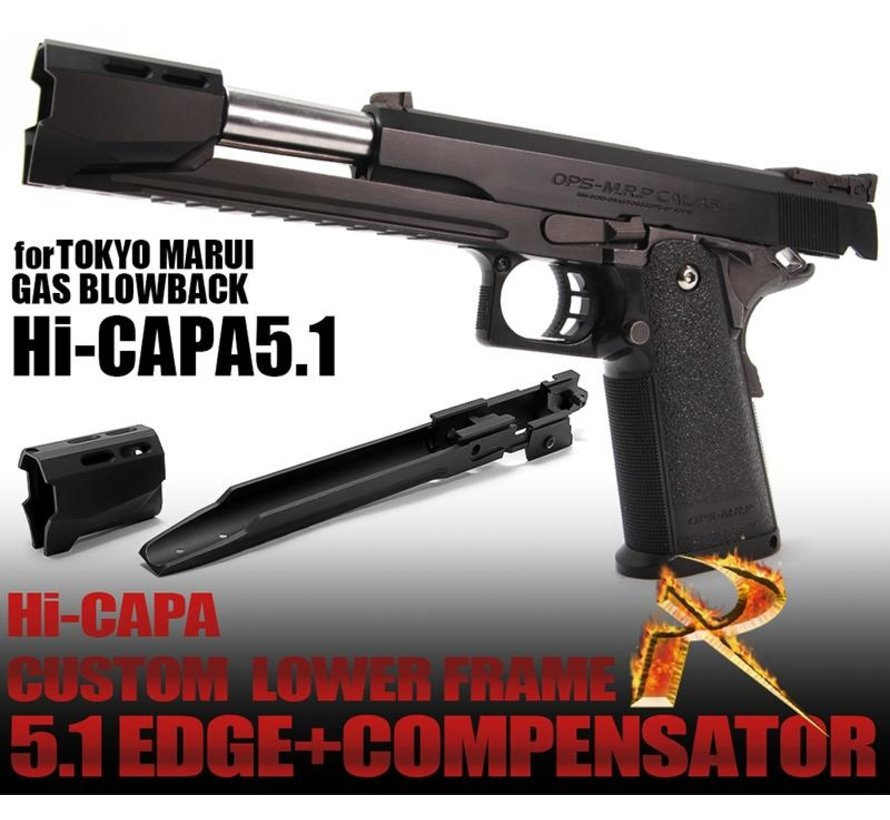 CUSTOM LOWER FRAME R EDGE 5.1 & COMPENSATOR FOR TM HI-CAPA