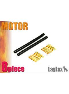 Prometheus Gold Pin Motor connector Set x8