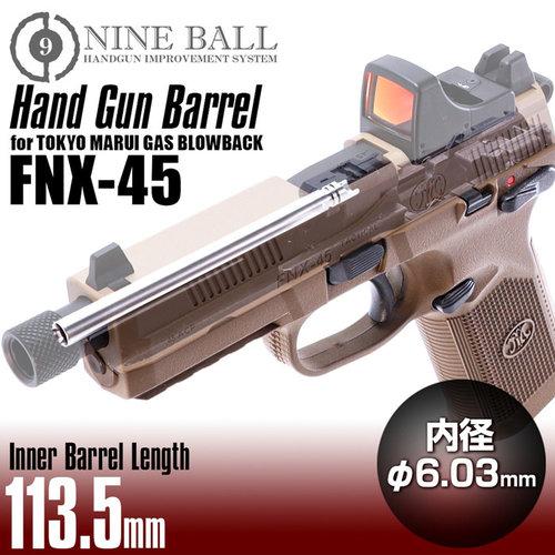Nine Ball Gas Blowback TM FNX-45 HANDGUN BARREL 113.5mm