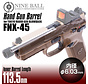 Gas Blowback TM FNX-45 PISTOLENLAUF 113,5 mm