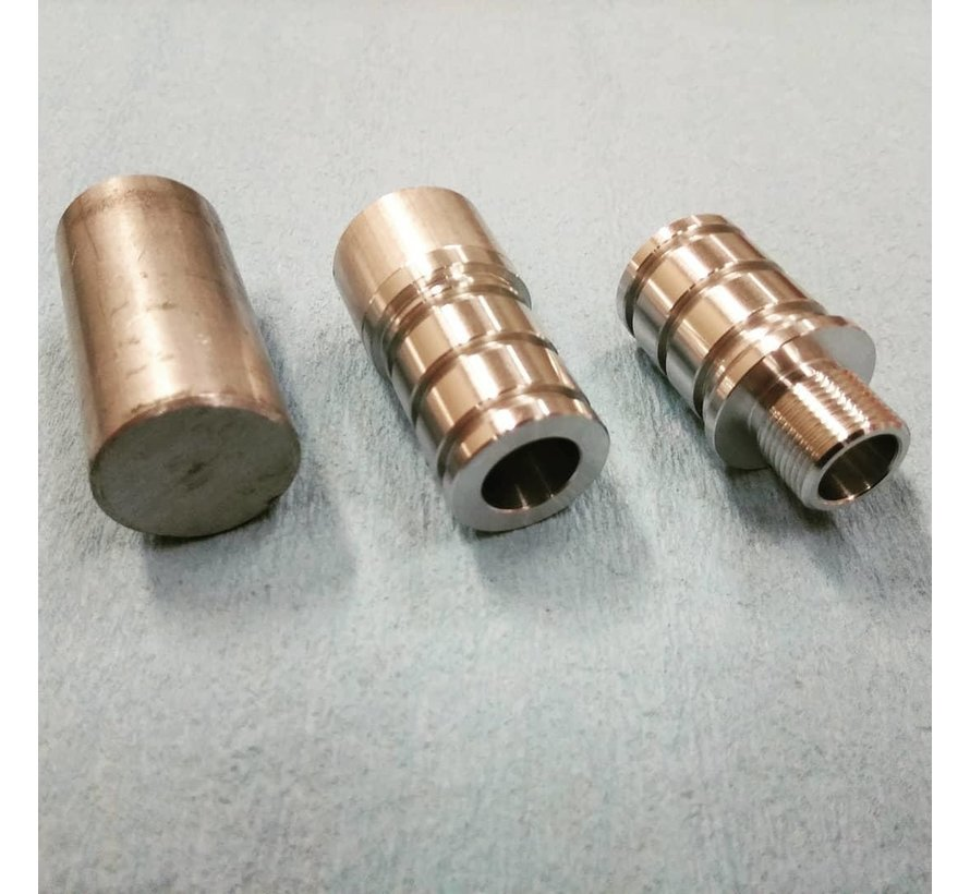 CNC Machined 14mm CCW Thread Adapter For Silverback SRS Carbon Barrels