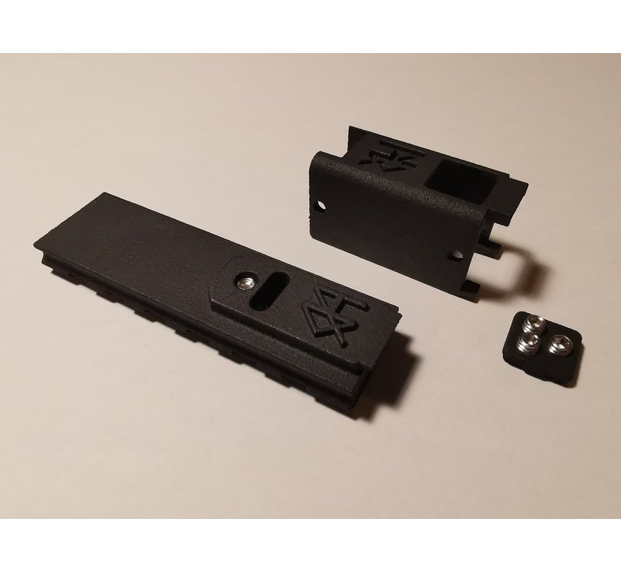 MK23/SSX23 NBB Modular TDC Cover With Mountable Rail - TM, STI, ASG, Novritsch